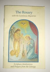 2003 The Rosary Scripture Meditation And Prayers From The Liturgy Booklet