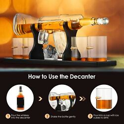 Creative Wine Bottle Pistol Glass Big Gun And Whiskey Decanter Set For Home Gift
