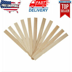 14 Wooden Paint Paddles Paint Stir Stick 100 Pack For Diy Arts Crafts Projects