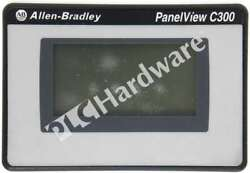 Allen Bradley 2711c-t3m /b Panelview C300 Mono/touch/rs232/df1/rs485 Scratches