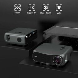 8500lms Native 1080p 5g Wifi Projector Bt Home Theater 4k Movie Daytime Zoom Us