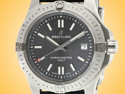 Breitling Colt 41 Automatic Stainless Steel Menandrsquos Watch A17313101f1s1