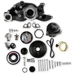 Holley 20-192bk Ls Premium Mid-mount Race Accessory Drive Kit Fits Ls7 And Ls Engi