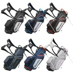 2021 Taylormade Mens Pro 8.0 Golf Stand Carry Bag New Dual Strap 7 Way Divider