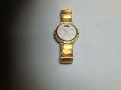 Lasalle Moon Phase Watch With Gold Band Price Reduced