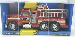 New Vintage Nylint Rescue Pumper No. 876 1997 In Box Fire Truck Wow Look Lot A