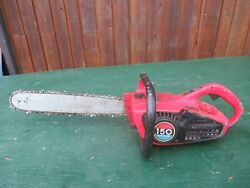 Vintage Homelite 150 Chainsaw Chain Saw With 16 Bar
