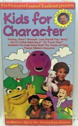 Kids for Character VHS $15.00