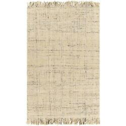 Area Rugs 50 Jute, 50 Wool Hand Woven No Pile For Home Decor