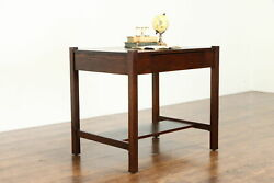 Mission Oak Arts And Crafts Antique Library Table Craftsman Office Desk 38649