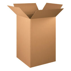 22 X 22 X 36 Tall Corrugated Boxes Ect-32 Brown Shipping/moving Boxes 100 Pcs