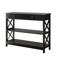 Drawer Console Table Dresser For Living Room Or Bedroom Storage/organizer