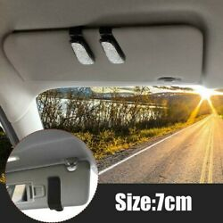 For Car Sun Car Sunglasses Clip Glasses Holders Two-in-one Design With Ticket