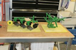 John Deere Pedal Tractor Plow And 3 Point Hitch Brandt Model Farms New