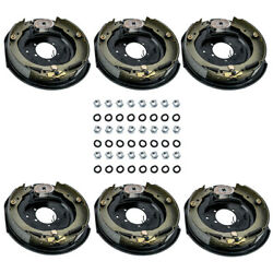 6x 12 X 2 Electric Trailer Brake Assembly Left Right Side 5200 6000 7000 Axle
