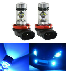 Ice Blue Projector Lens 20-smd Led Daytime Running Light For Honda Accord Civic