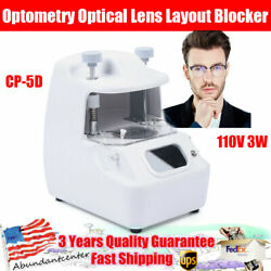 Cp-5d Optometry Optical Lens Layout Blocker Positioning Center Machine 110v 3w
