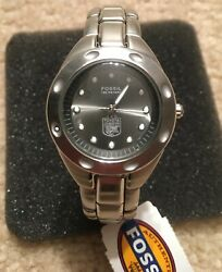 2003 Toyota Gator Bowl Notre Dame Team-issued Womenand039s Fossil Watch