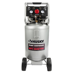 Husky Portable Air Compressor 120-volt Oil Free Single Stage Corded Tool Only