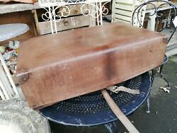 Malle Marmotte Ancienne Louis Vuitton/valise Ancienne/old Suitcase/old Trunk