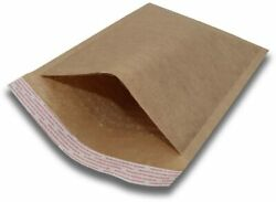 1000 0 6x10 Kraft Natural Paper Padded Bubble Envelopes Mailers Case 6x10