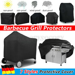 Barbecue Grill Bbq Gas Protector Covers Heavy Duty Waterproof Garden Outdo