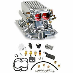 Holley 550-710 Stealth Ram Power Pack Kit Small Block Chevy Vortec Heads Polishe