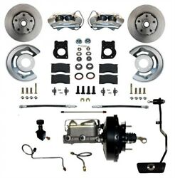 Leed Brakes Fc0002-3405a Front Disc Brake Kit 1967-1969 Ford/mercury W/automatic