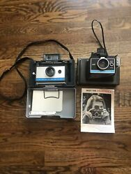 Lot Of 2 Vintage Polaroid Cameras Polaroid Automatic 210 And Colorpack Ii