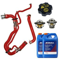 Ppe Red Radiator Hose - Thermostats - Acdelco Coolant/cap For 11-16 6.6l Duramax