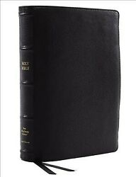 Holy Bible New King James Version, Reference Bible, Wide Margin, Premium Go...