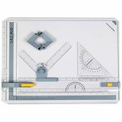 Salemar Inch Scale A3 Drafting Table Drawing Board, Drawing Tool Set Graphic Arc