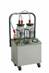 Suction Machine 1/4 Horse Power With Double Unbreakable Jars Ent And Dental Age2