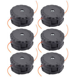 6pcs Trimmer Head For Echo Pas-225 Gt-2200 Srm-280 Speed-feed 400 Head Trimmer