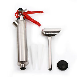 Grouting Mortar Sprayer Applicator Tool For Cement Lime Gun Kit With 2 Nozzls