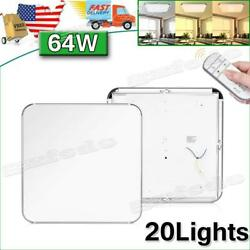 20pcs 64w Led Ceiling Light Dimmable Indoor Ultra Thin Flush Mount Home Fixtures