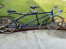 Co-motion Road Tandem Bicycle Shimano Xt Race Face Shimano Ultegra Nice Cnd
