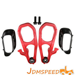 Tow Hooks L And R With Hardware Heavyandnbspdutyandnbspfront Red For 2019 2020 Ram 1500 Dt