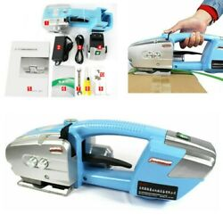 Portable Electric Strapping Machine Pp Pet Strap Steel Belt Packing Tool Baler