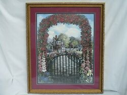 Glynda Turley Signed Limited Edition Summer In Victoria 1299/7500 Framed Matted