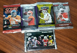 2014-2019 Nfl 5 Factory Pack Special = See Details