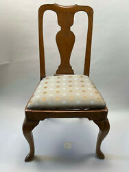Antique Queen Anne Dining Room Chairs. Set Of 8