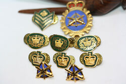 Collection Canada Canadian Military Master Warrant Officer Gunner Cap Badge Pins