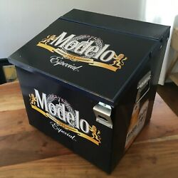 Cerveza Modelo Especial Beer Ice Chest Bar Party Metal Cooler - Patio Man Cave