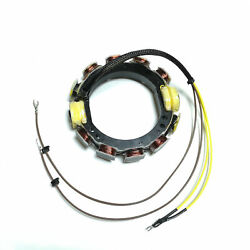 For Johnson/evinrude 85hp-140hp Outboard Stator 6 Amp 2 Stroke 4 Cyl 0581225