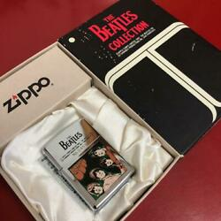 Zippo Oil Lighter The Beatles With Serial Number Made In 1994 Unused Item