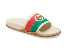 Agrado Slide Sandal Cream / Red / Green Menand039s Size 7us Sold Out Nordstrom