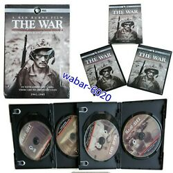 The War A Film By Ken Burns And Lynn Novick Dvd, 6-disc Set Band New And Sealed