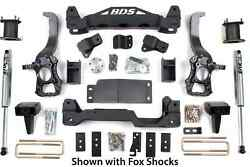 Bds Suspension 1505h 6in Front/4in Rear For 2014 F150 2wd 6/4 Lift System