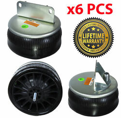 Pack Of 6 Air Spring Bag For Kenworth Trucks Replaces W01-358-9622 1r11-221